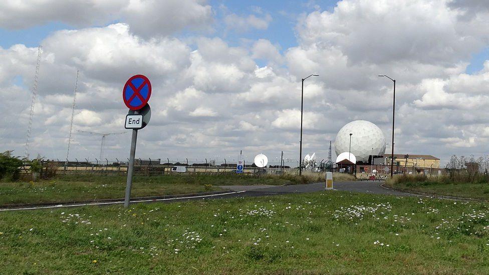 RAF Croughton, Northamptonshire.