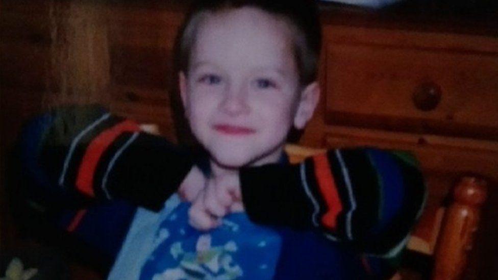 Julian as a child
