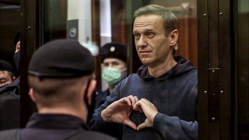 Opposition leader Alexei Navalny sentenced to prison