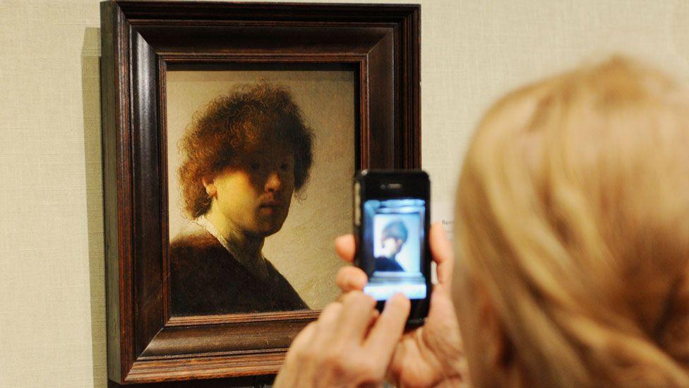 Self-Portrait as a Young Man, 1628-29 by Rembrandt van Rijn