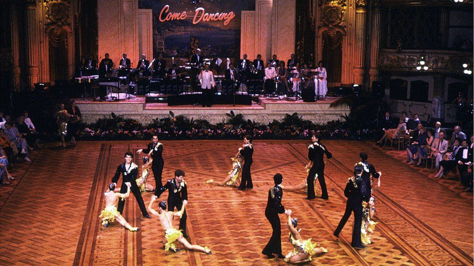 Come Dancing at the Blackpool Tower Ballroom in 1985