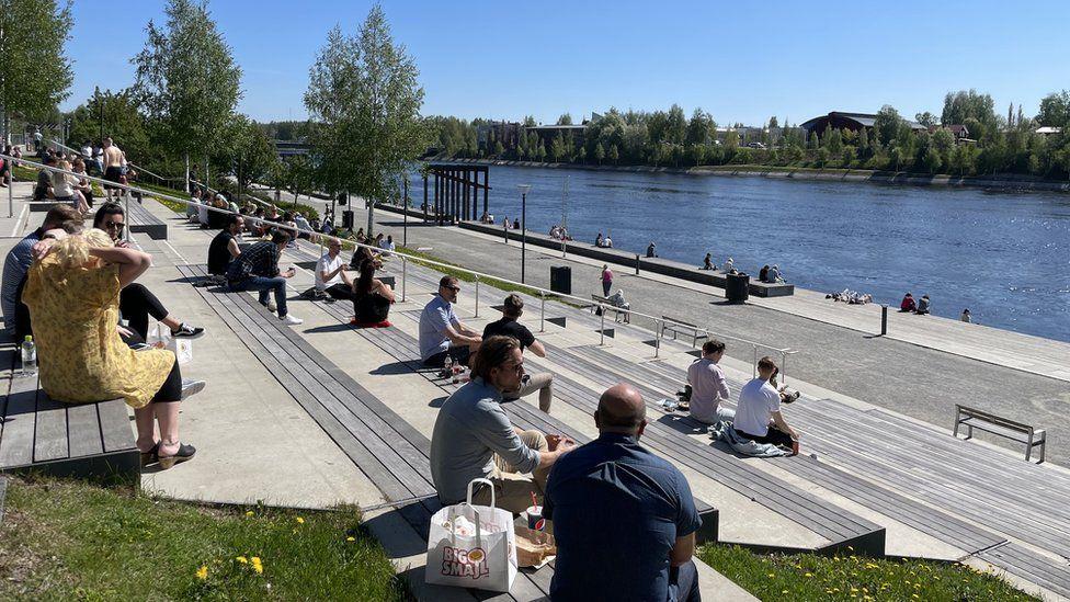 Skellefteå waterfront
