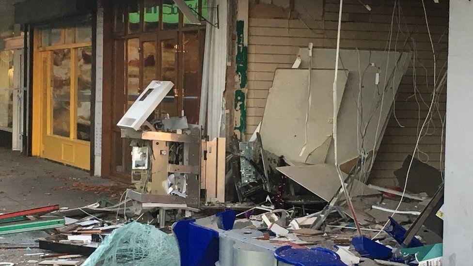 Cash machine raided at Spondon Post Office