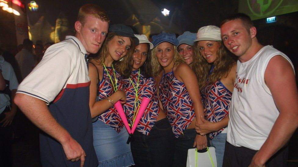 British people in Ayia Napa