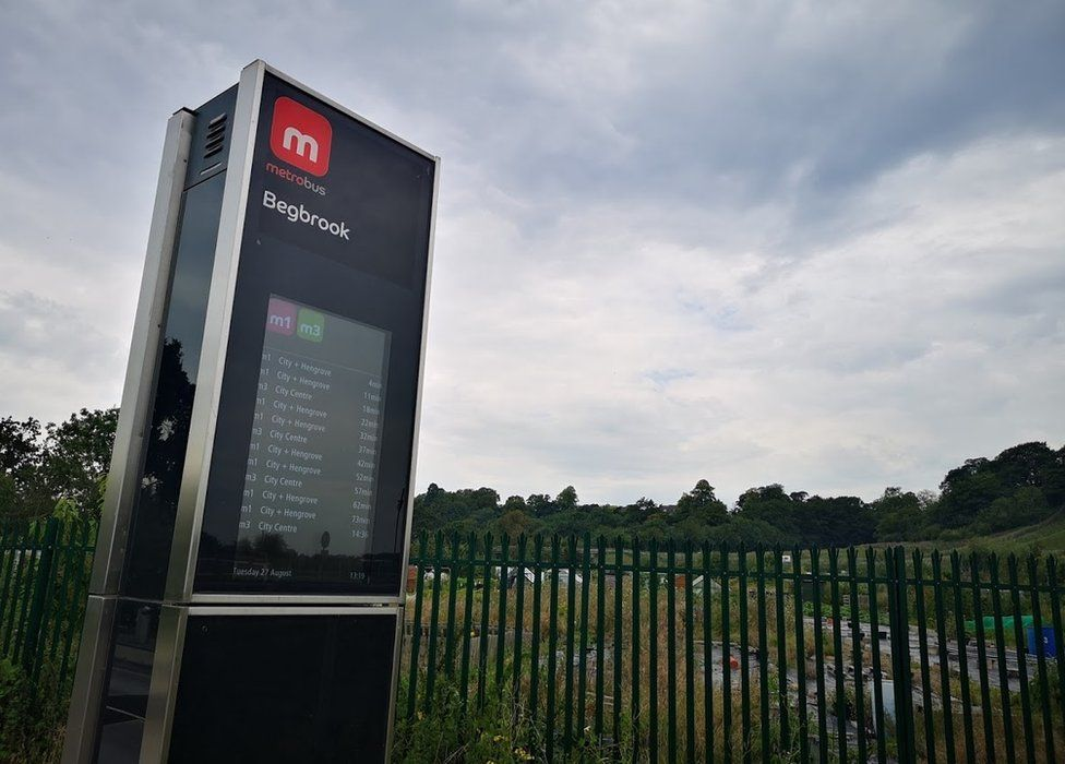 Begbrook Metrobus stop