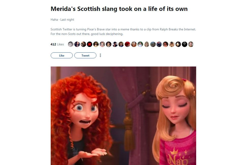 Merida in new trailer