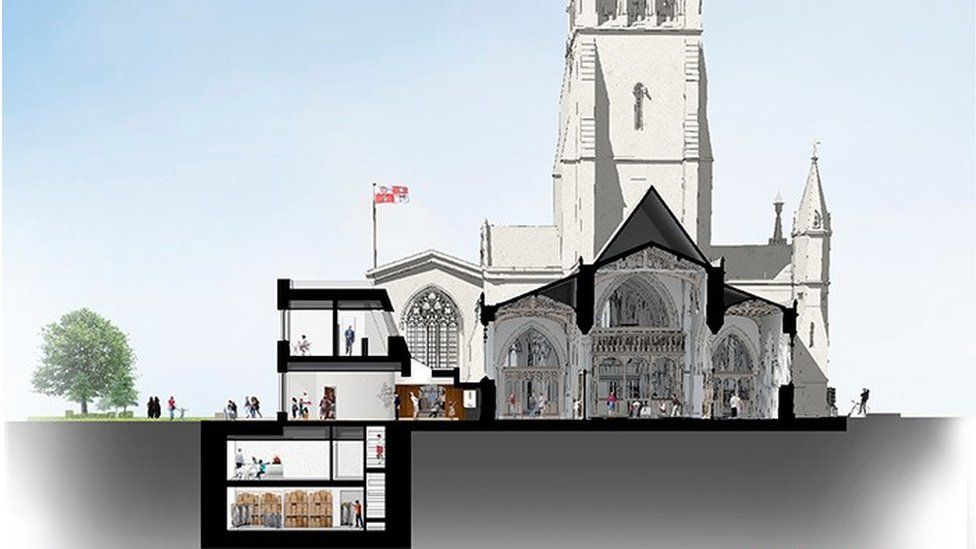 Leicester Cathedral plans
