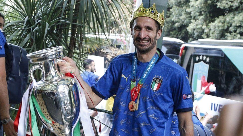 Team Captain Giorgio Chiellini