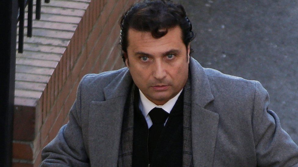 Costa Concordia captain Francesco Schettino. Photo: February 2015