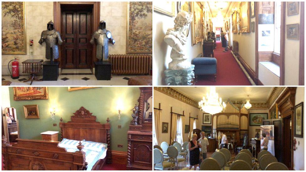 Restored rooms at Plas Glynllifon