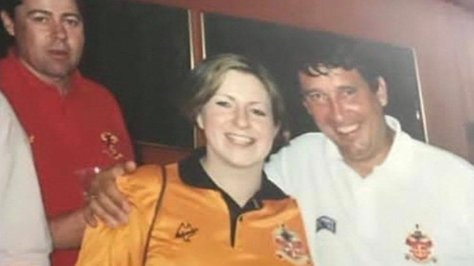 Claire Elliott and Graham Taylor