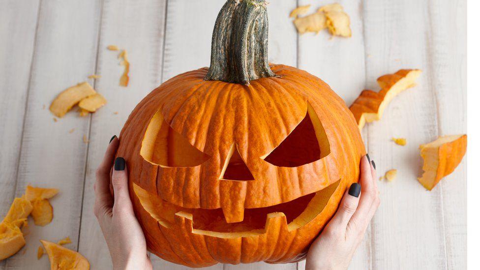 File photo of a pumpkin