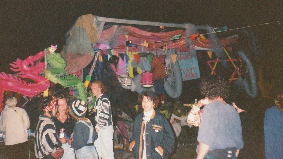 Castlemorton Rave