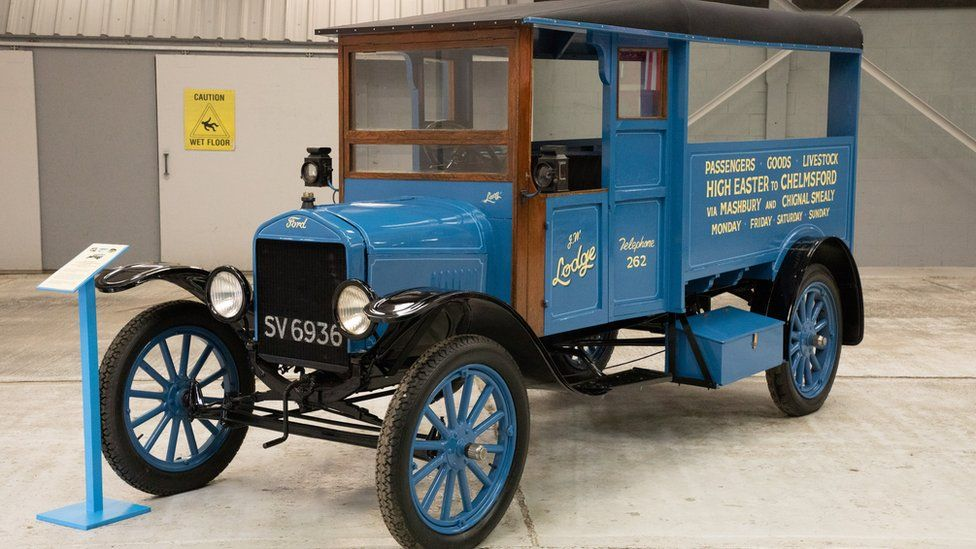 A Model T Ford in the style of the original Lodge's vehicles