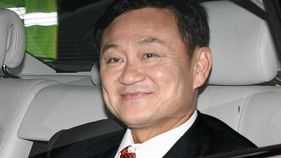 Ex-Thai PM Thaksin Shinawatra in London (Sept 2006)