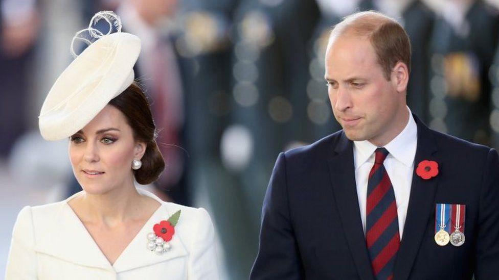 Prince William, Duke of Cambridge and Catherine, Duchess of Cambridge (30 July 2017)