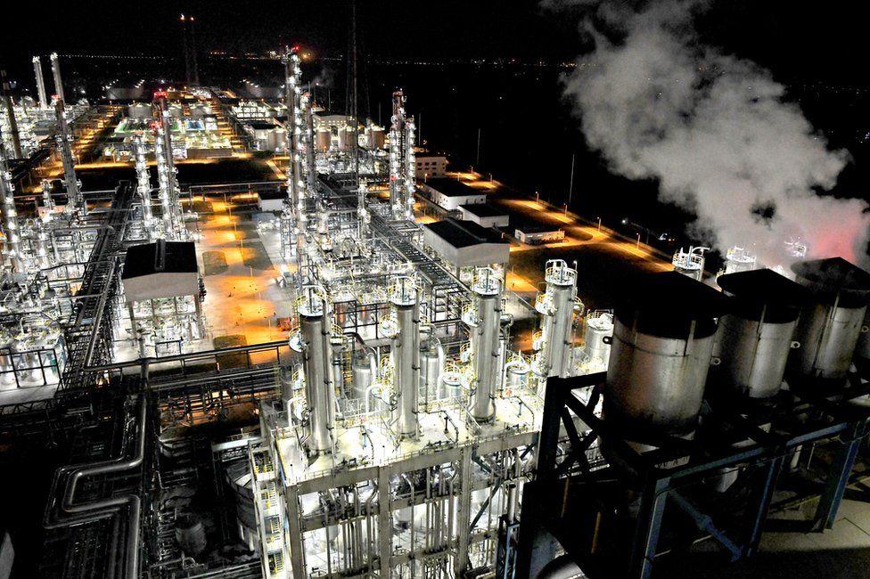 Impianto di lavorazione del carbone