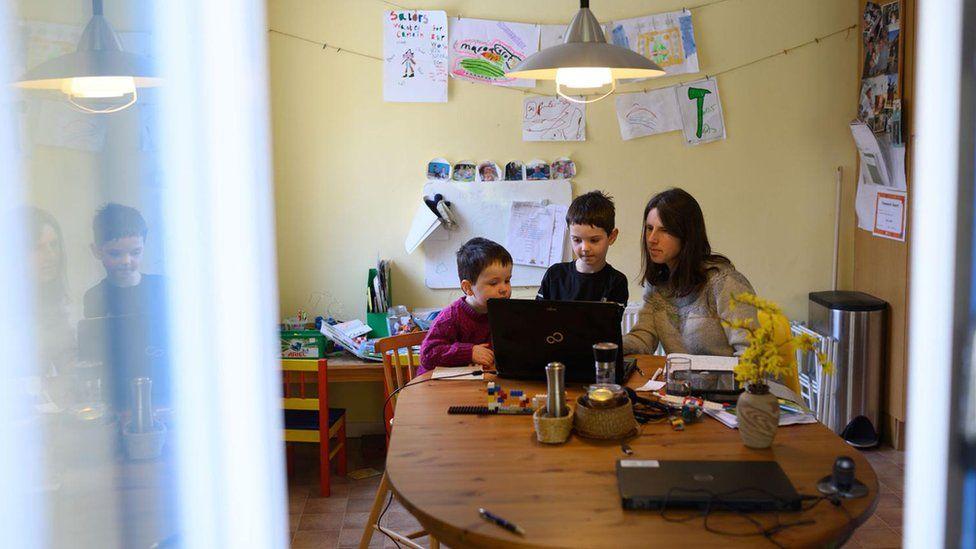 Карантин - діти вдома