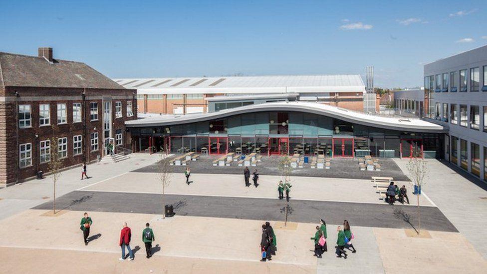 Sydney Russell School in Dagenham.