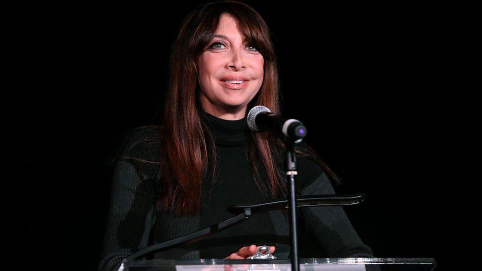 Actress and writer Illeana Douglas
