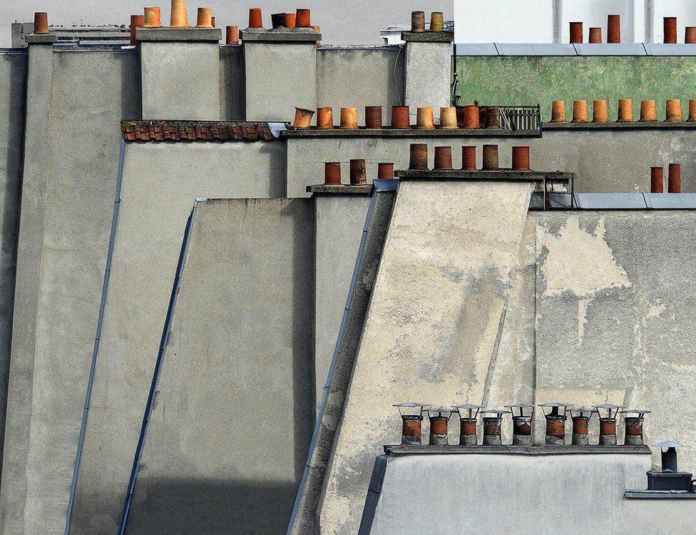 Paris roof tops, 2014