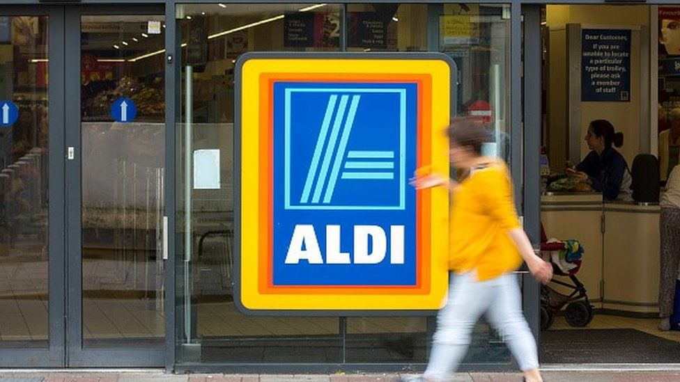 An Aldi store in London