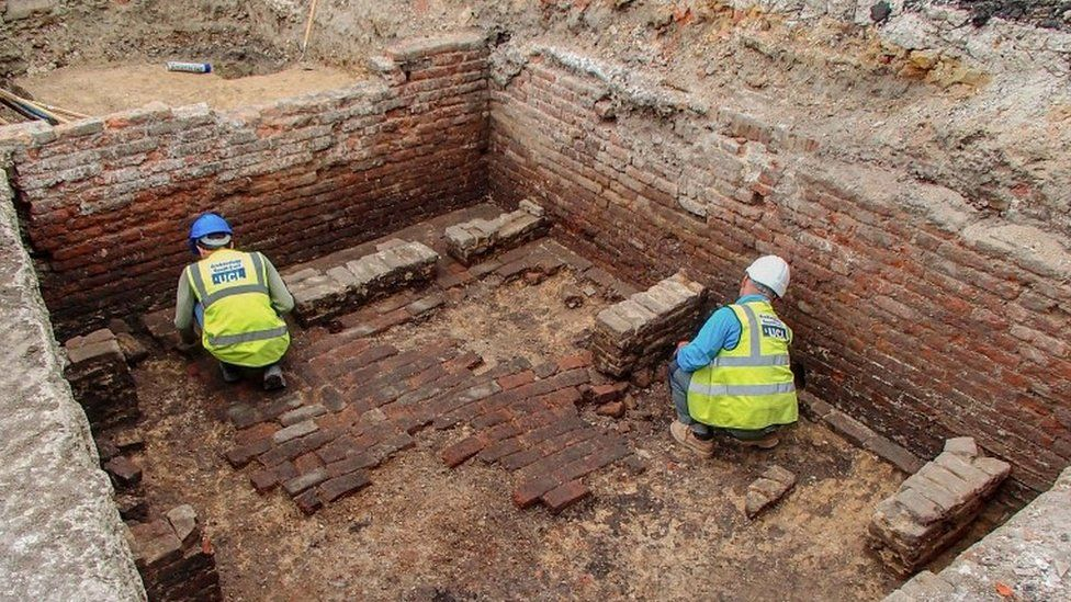 Beer cellar discovered