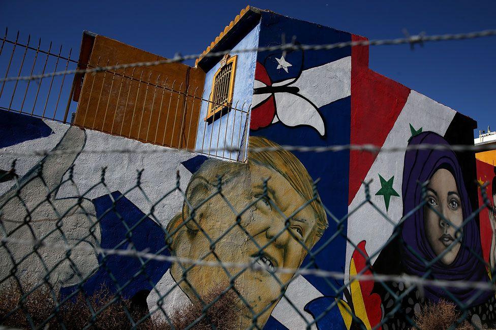 US border at Tijuana, Mexico