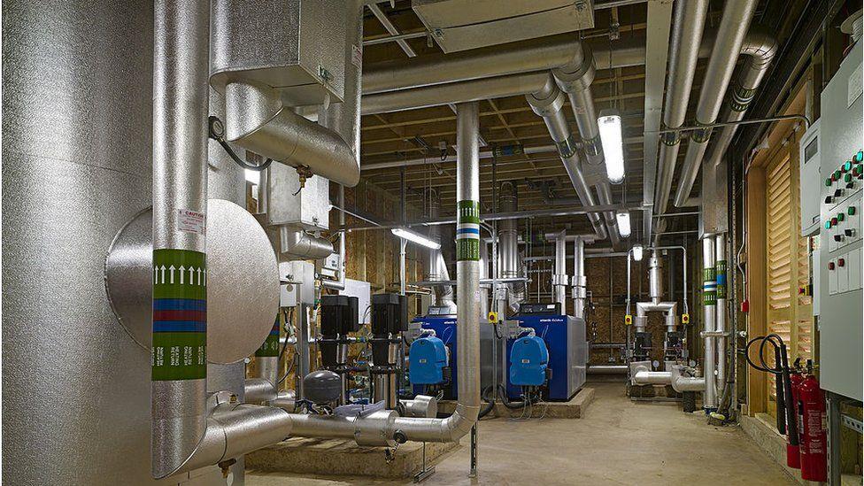 Heating plant, Buckinghamshire