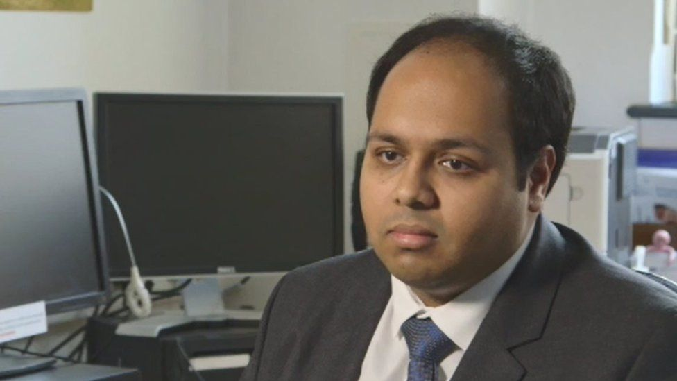 Dr Rinesh Parmar from the Doctors' Association