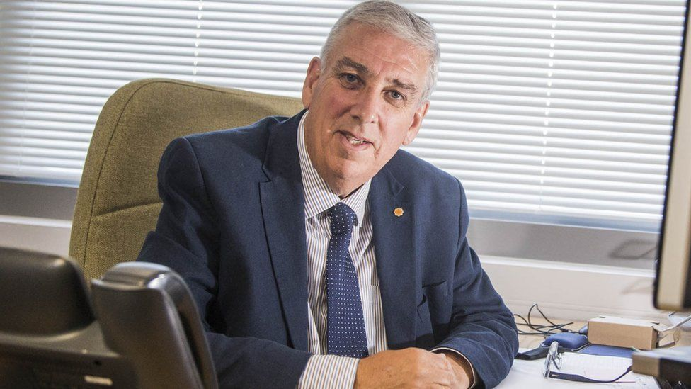 The new north Wales police and crime ommissioner (PCC), Arfon Jones