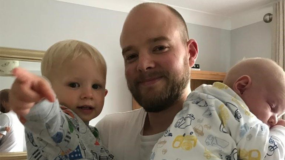 Paternity leave: 'All of my dad friends were incredibly jealous'