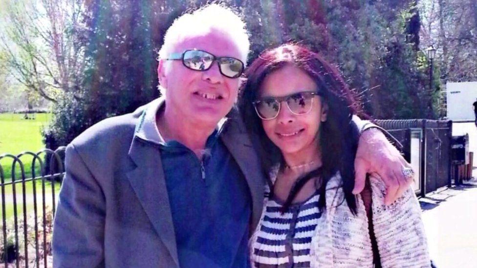 Hesham Rahman and his sister Noha