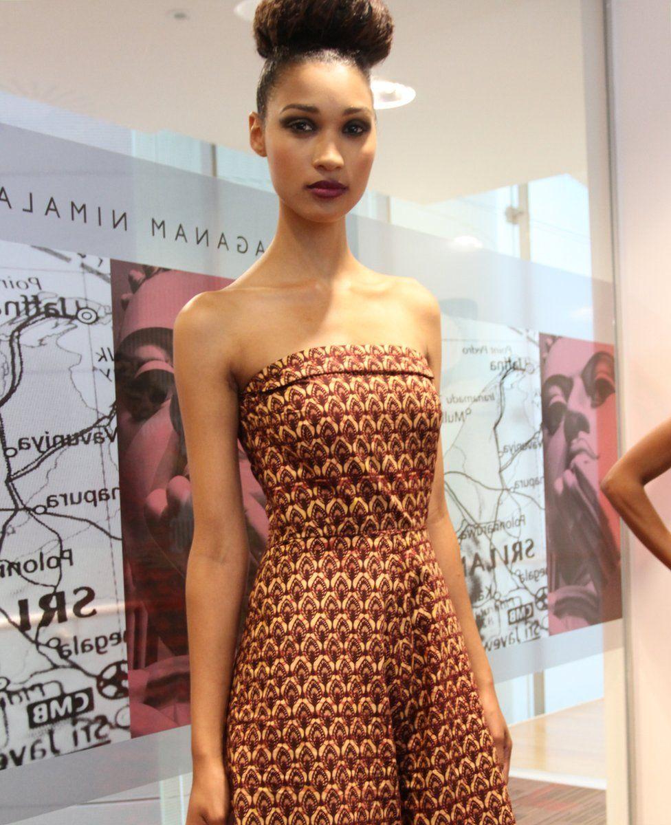 Model Tasha in print