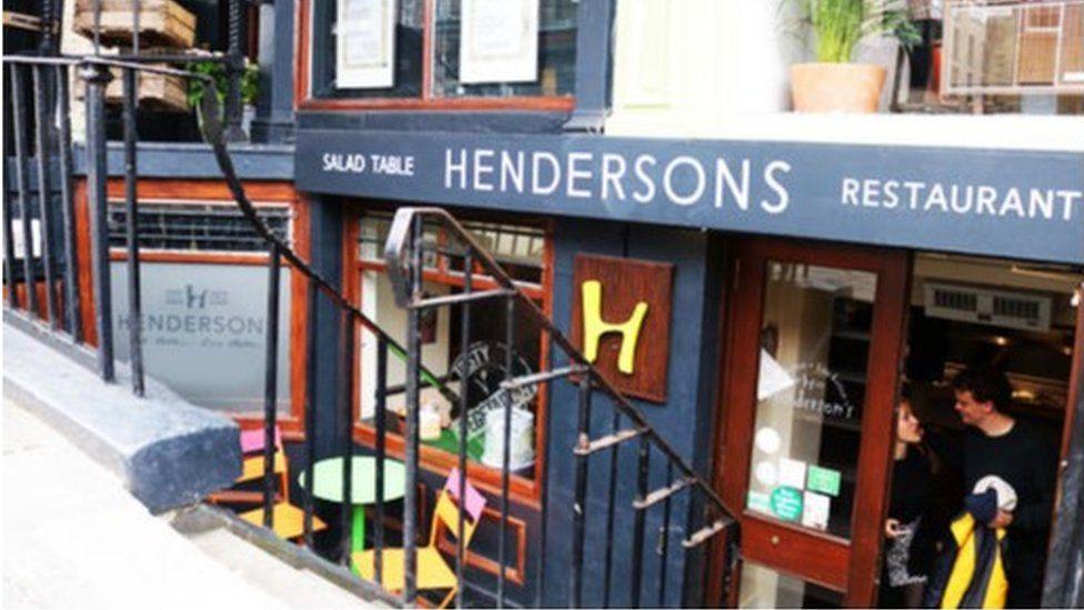 Hendersons restaurant