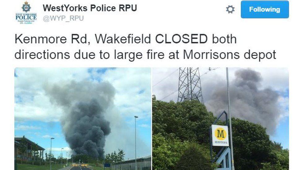 West Yorkshire Police tweet