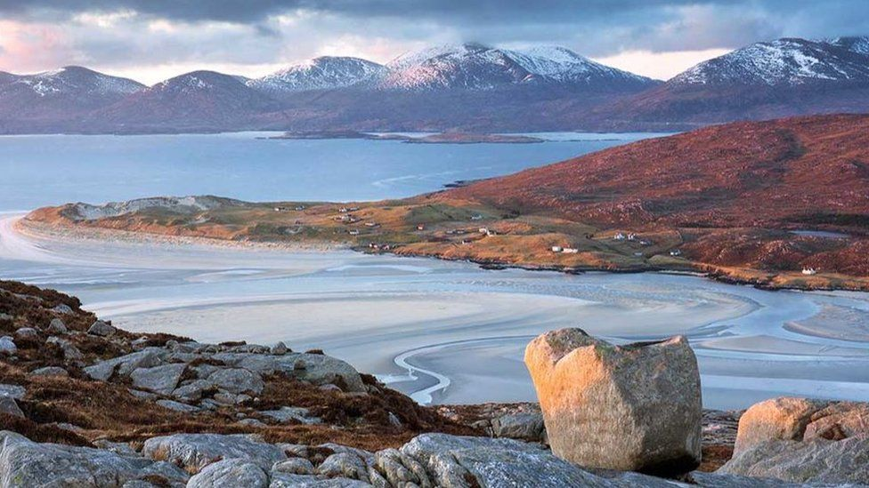 The Isle of Harris also featured in Dr Muir's portfolio