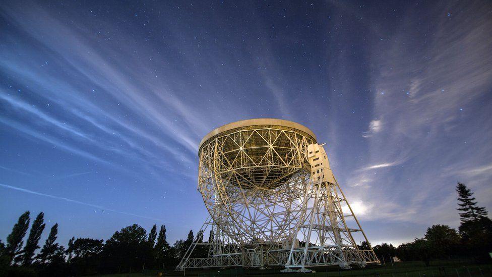 Lovell Telescope at the Jodrell Bank Observatory