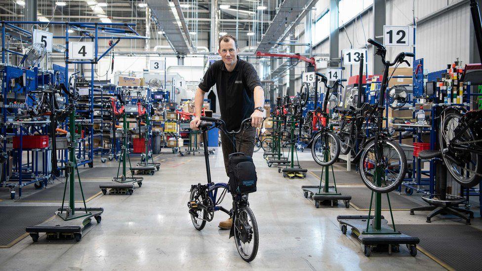 Brompton Bikes factory