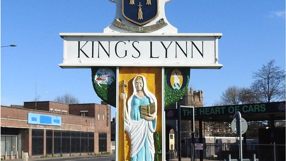 King's Lynn sign