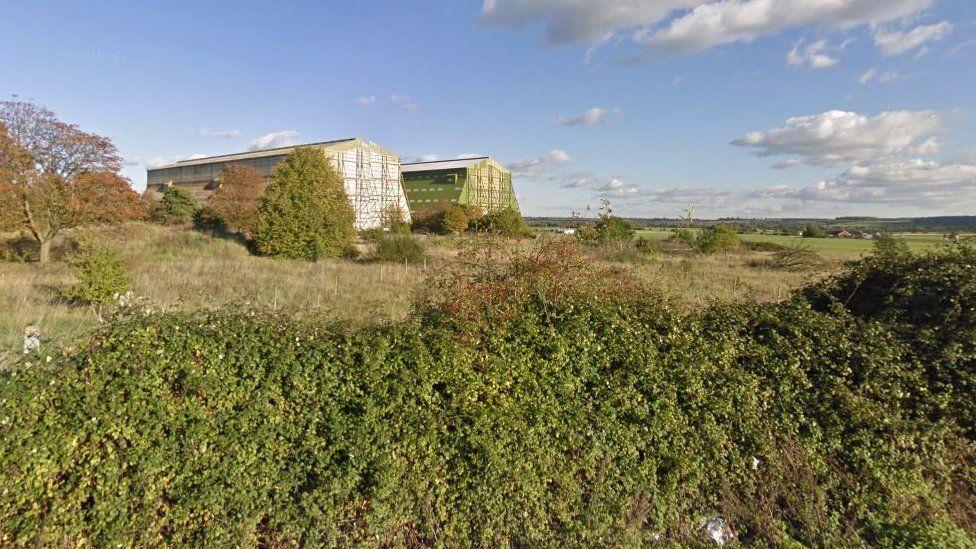 Cardington hangars, near Bedford
