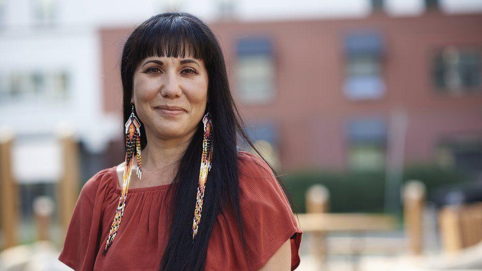 Leah Gazan, NDP candidate in Winnipeg Centre