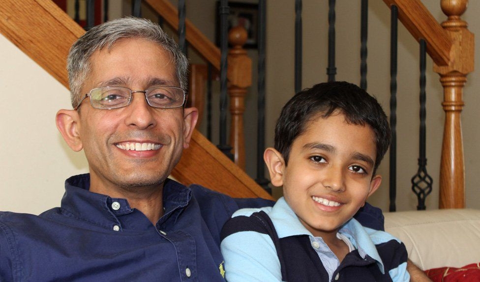 Eight-year-old member Arjun Puri, is already beating his father at chess