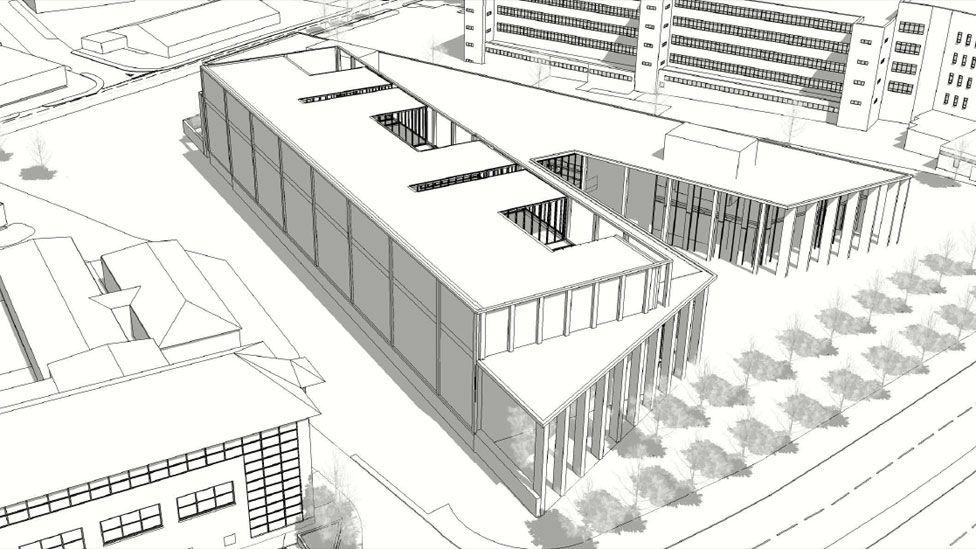 Design of Inverness Justice Centre