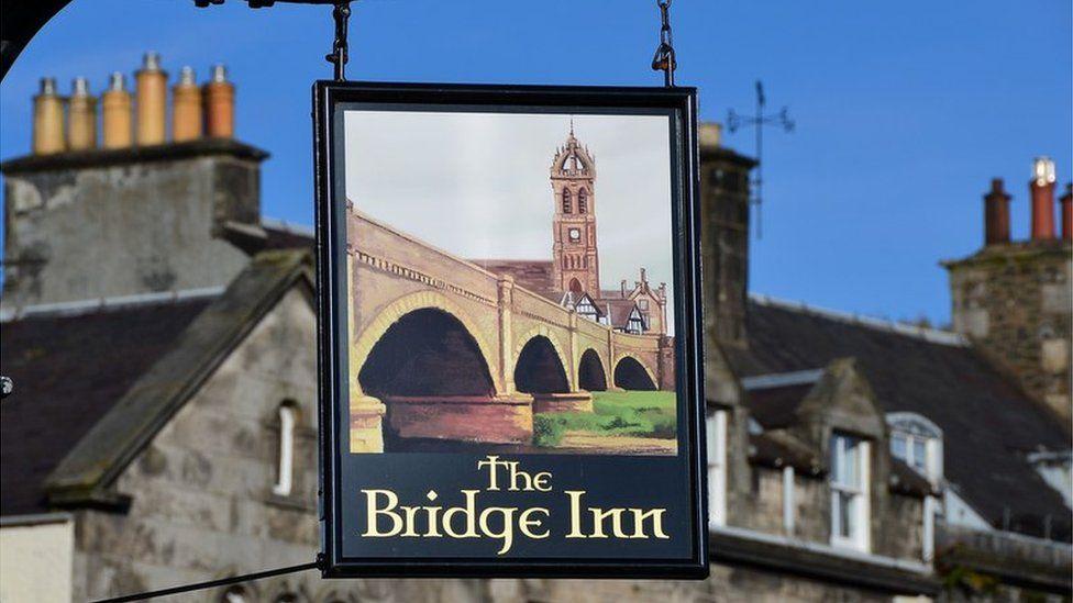 Bridge Inn sign