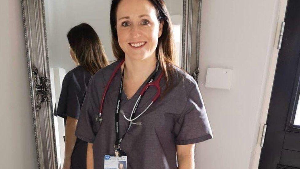 NI Scrubs has been making scrubs for front-line coronavirus workers
