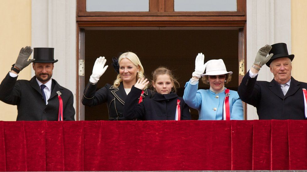 The Swedish royal family