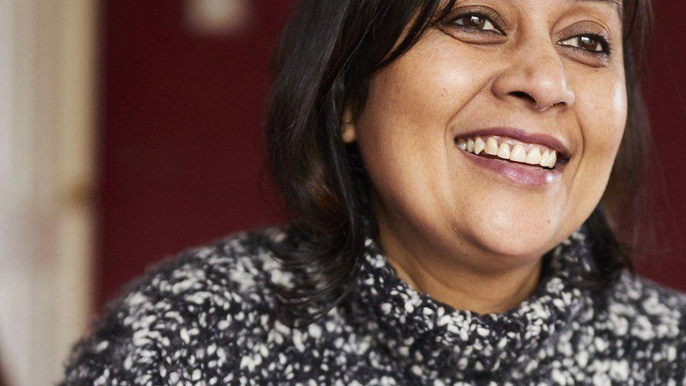 Self-employed, mother of three Pragya Agarwal from Formby, Merseyside