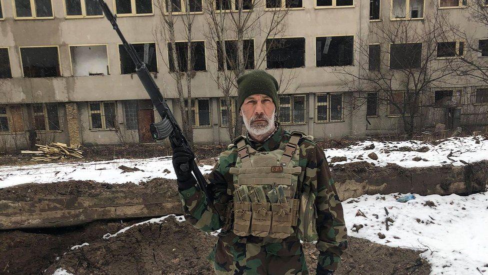 John Harding - a fighter in Ukraine