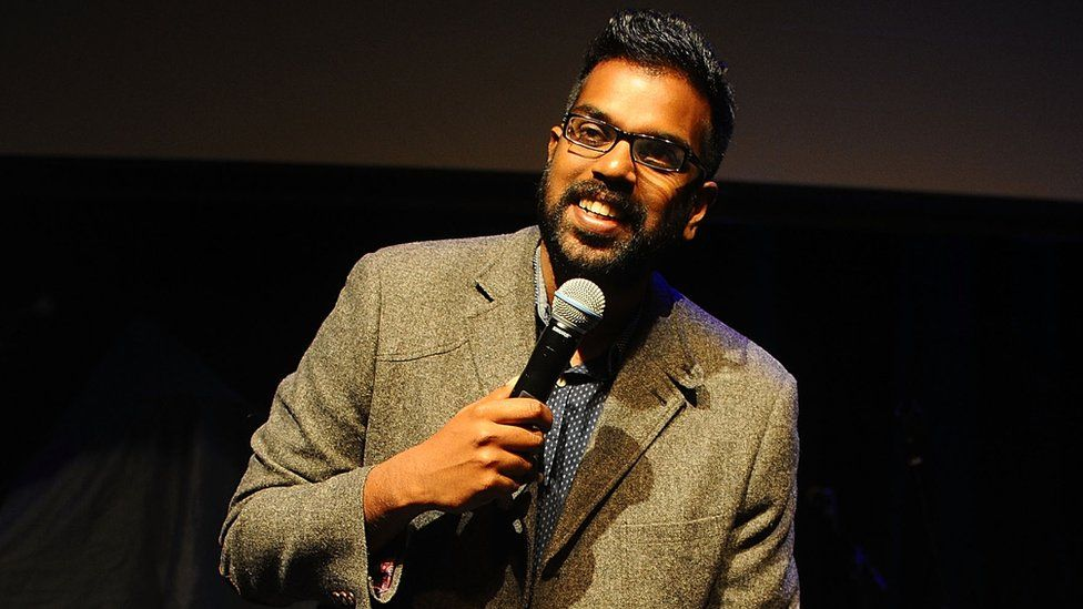 Romesh Ranganathan is a TV comedy star and stand-up